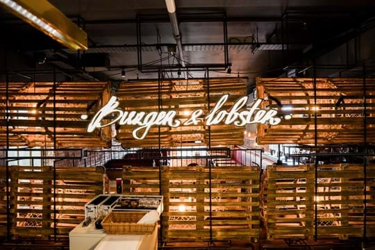 Burger & Lobster at Harvey Nichols London