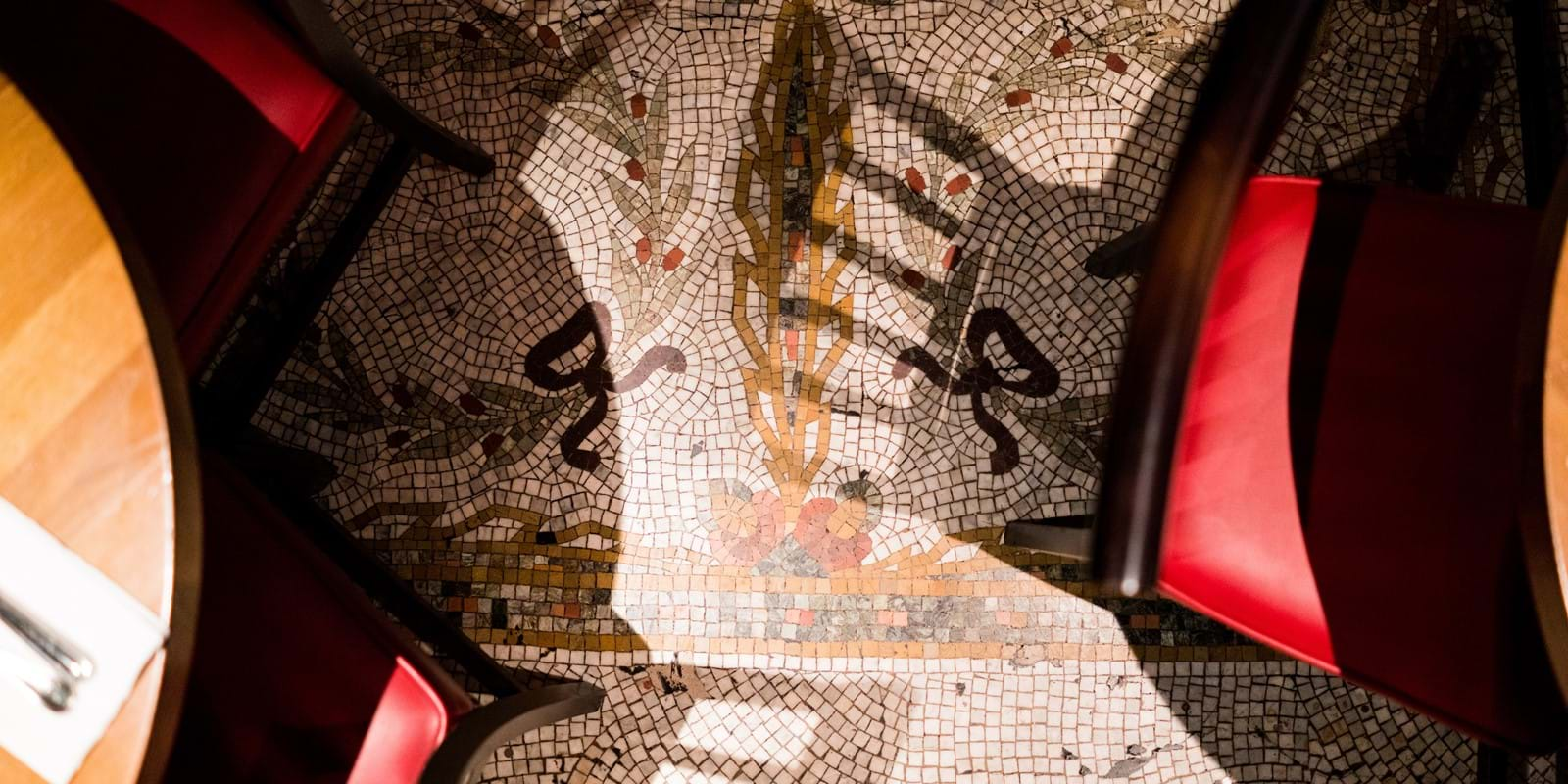 Burger & Lobster Oxford Circus Mosaic Floor