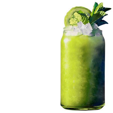 Green Machine Mocktail
